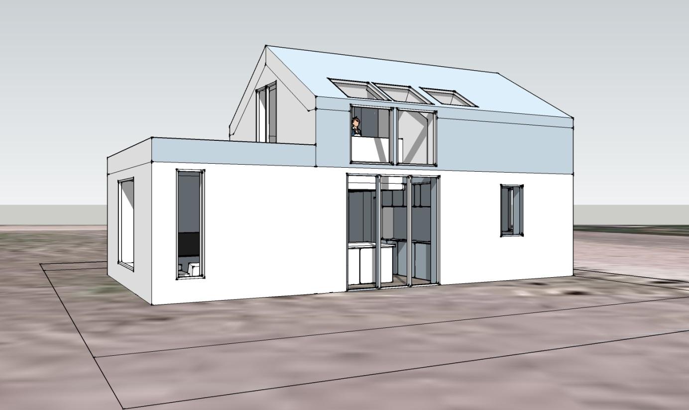 Je bekijkt nu Active House blog Bas Hasselaar deel 23: Het ontwerp voor mijn Active House is klaar! Min of meer…