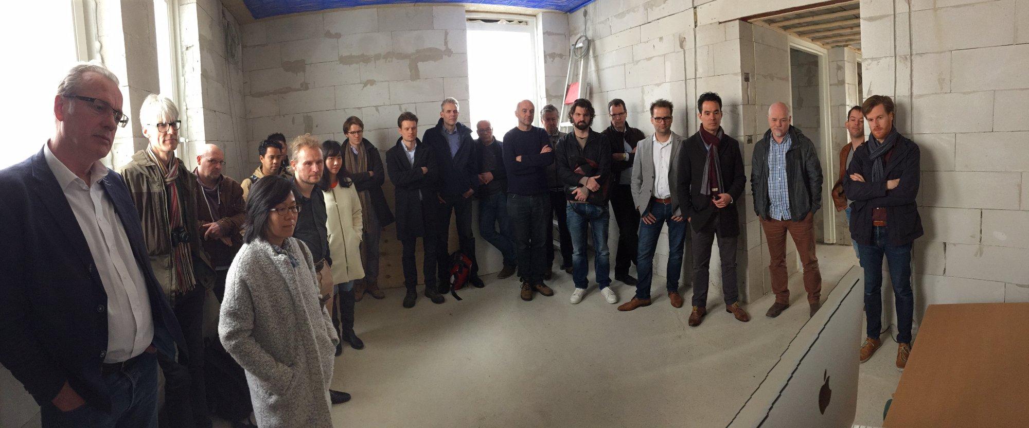 Active House blog Bas Hasselaar deel 35: Veel bezoekers met veel vragen…