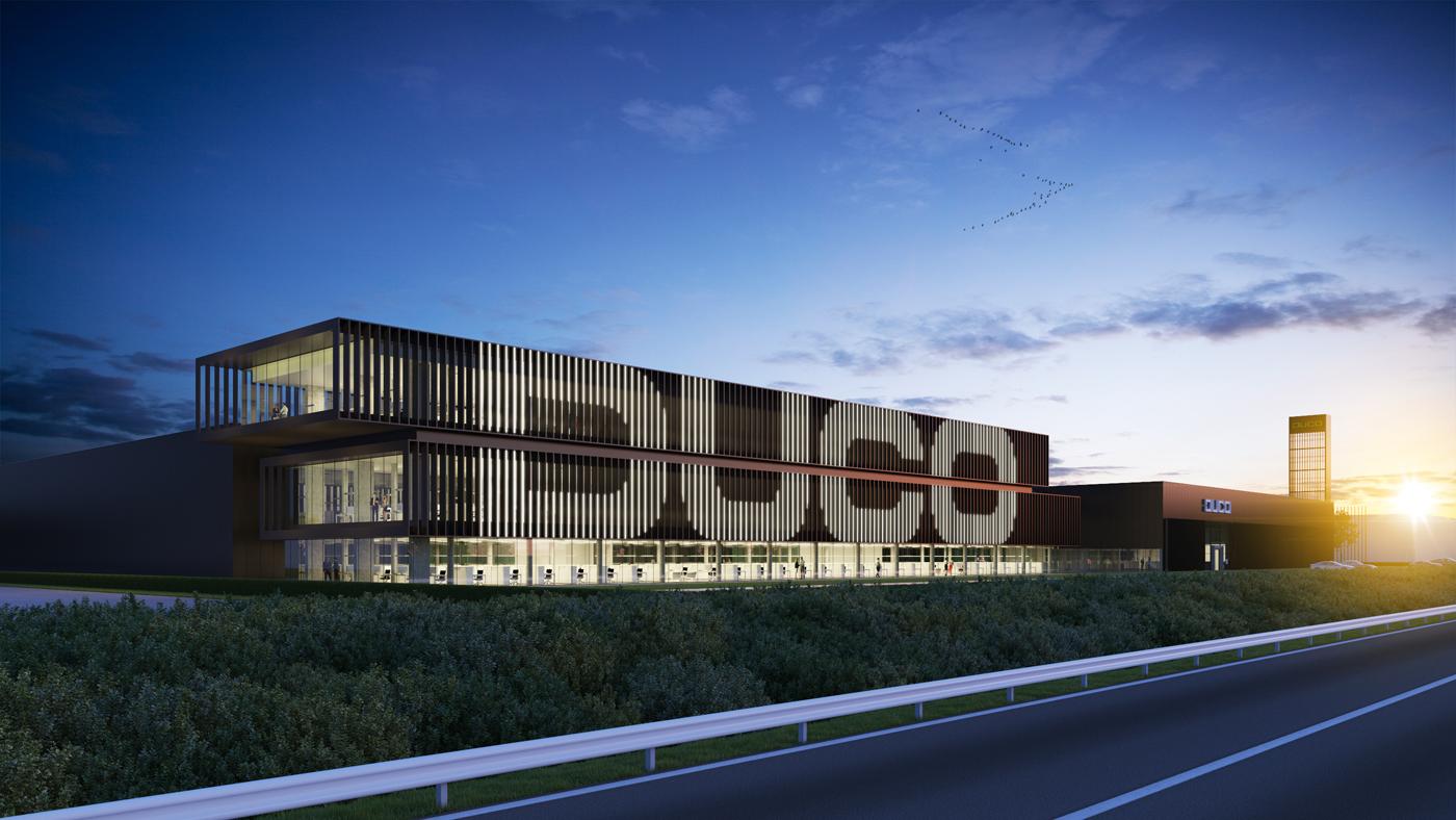 Nieuw kantorencomplex voor Duco
