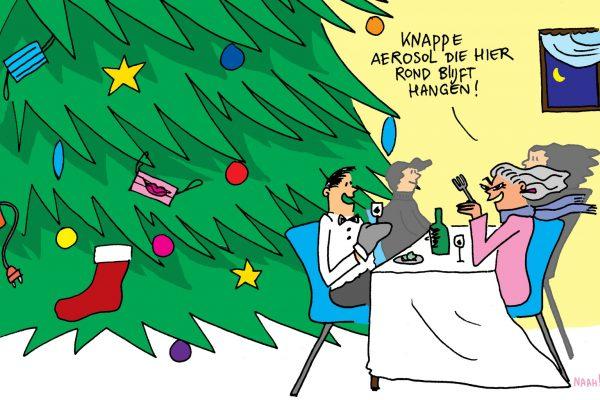 Hoe vier je de kerst zonder risico? 10 tips voor een aerosol-arme kerst